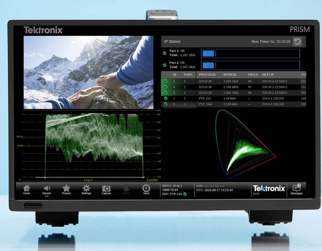 Tektronix assists AIMS Alliance, EBU and IRT to design and execute JT-NM testing of SMPTE 2110 Devices 3