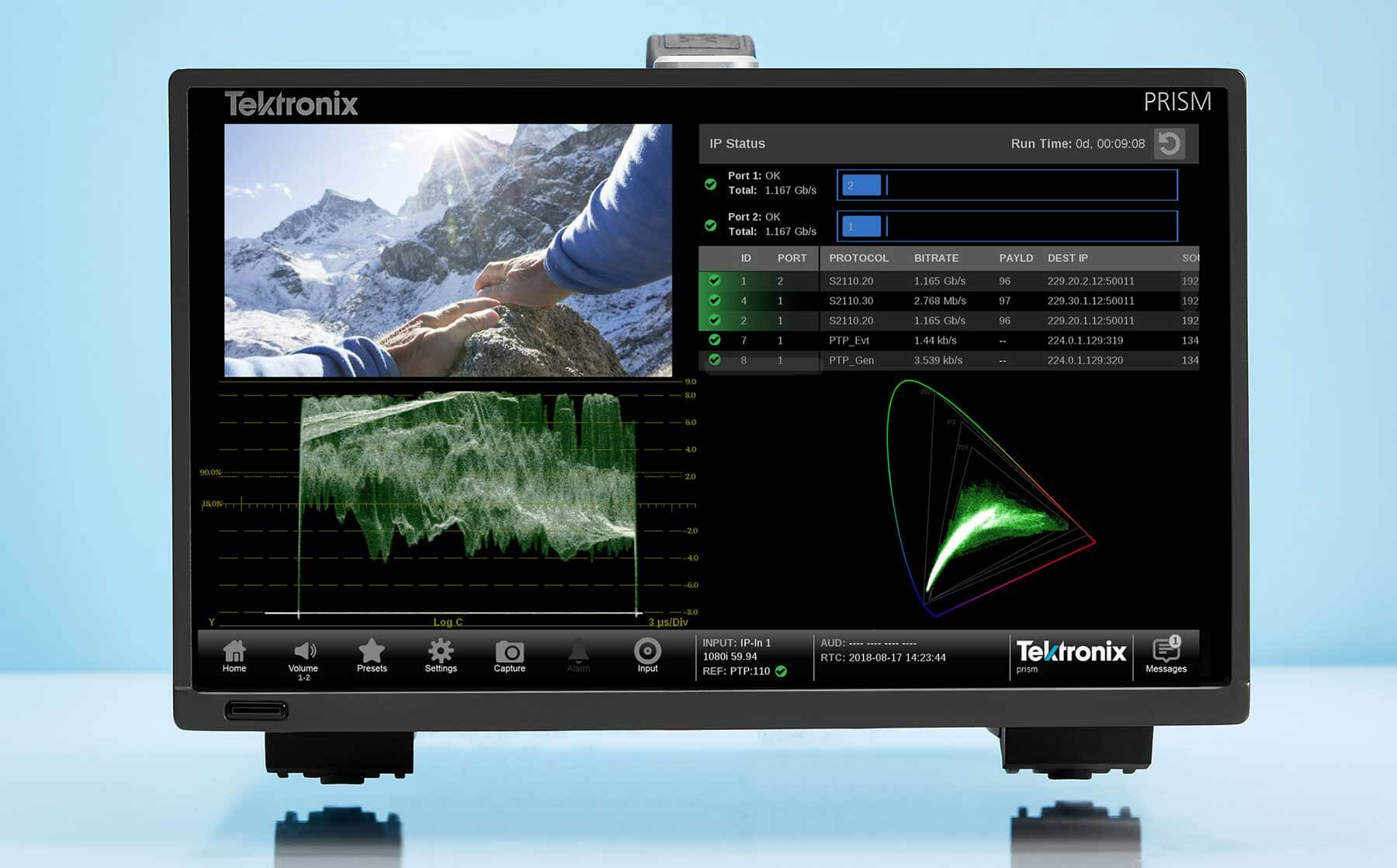 Tektronix assists AIMS Alliance, EBU and IRT to design and execute JT-NM testing of SMPTE 2110 Devices 4