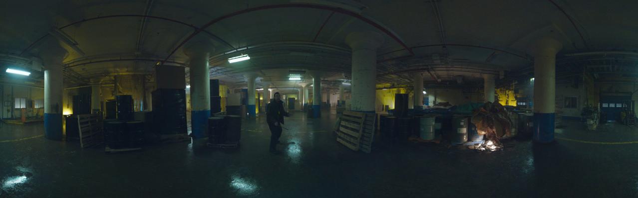 TheStrainVR Scene