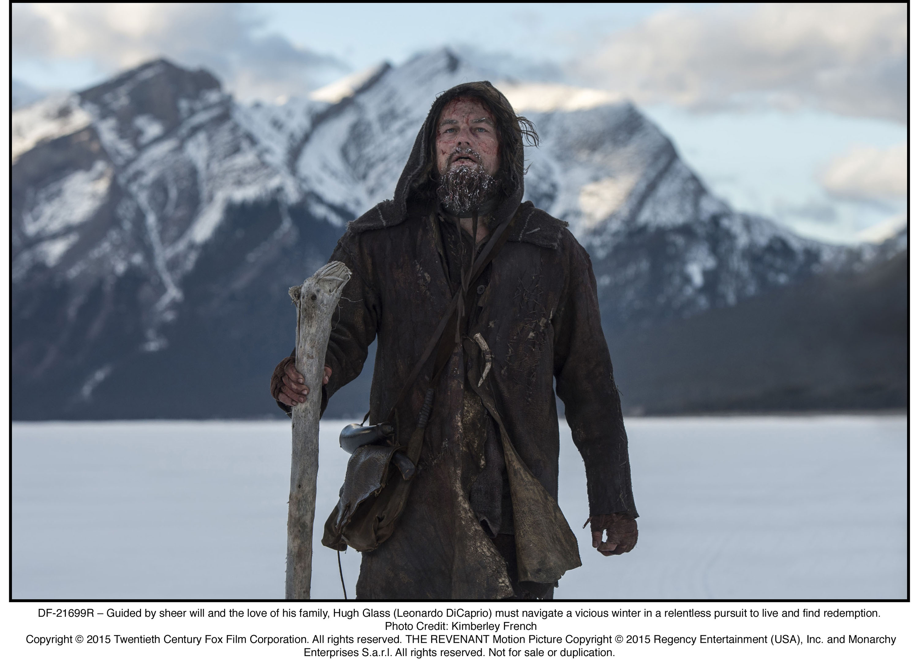 The Revenant Leo DiCaprio DF 21699R