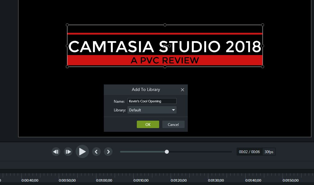 Themes in Camtasia Studio 2018