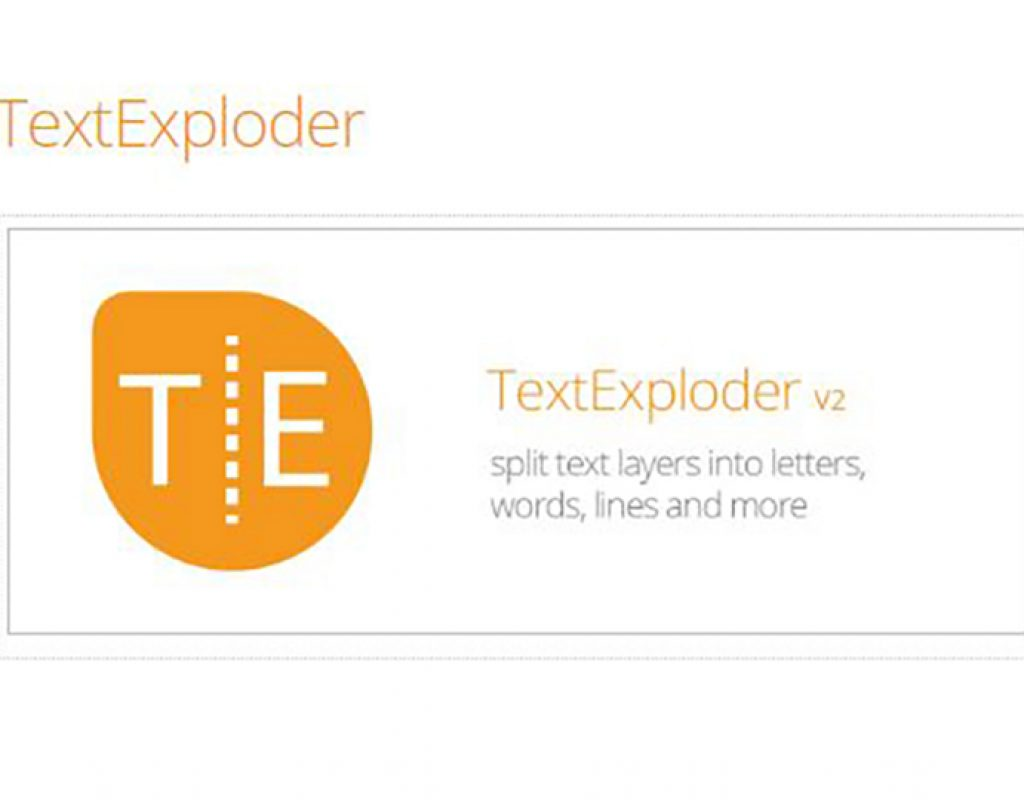 Text Exploder Featured Image
