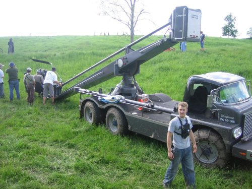 Camera Cranes From the Beginning: 7