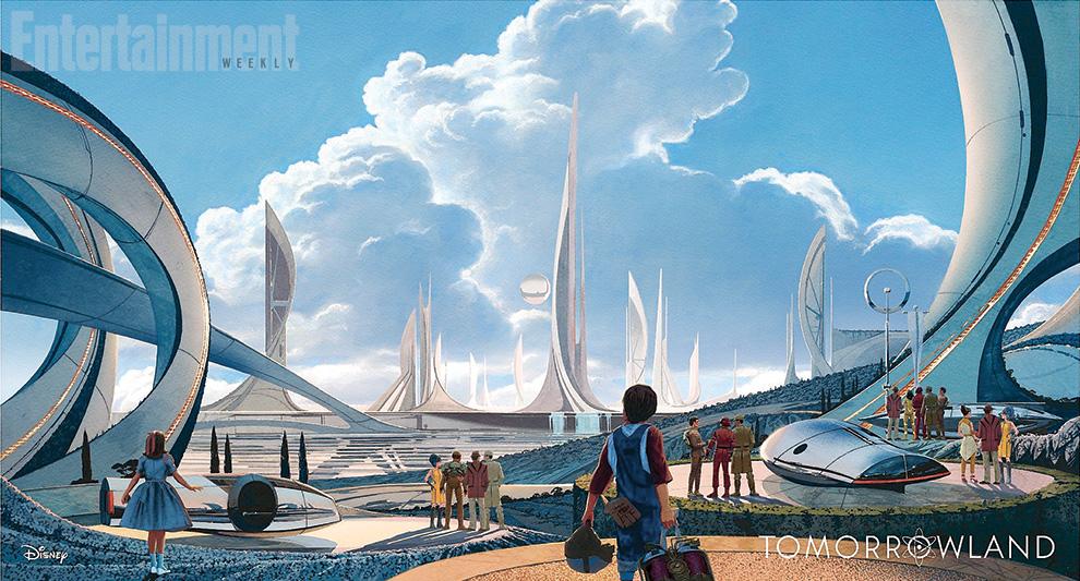 Tomorrowland Syd Mead Concept Art