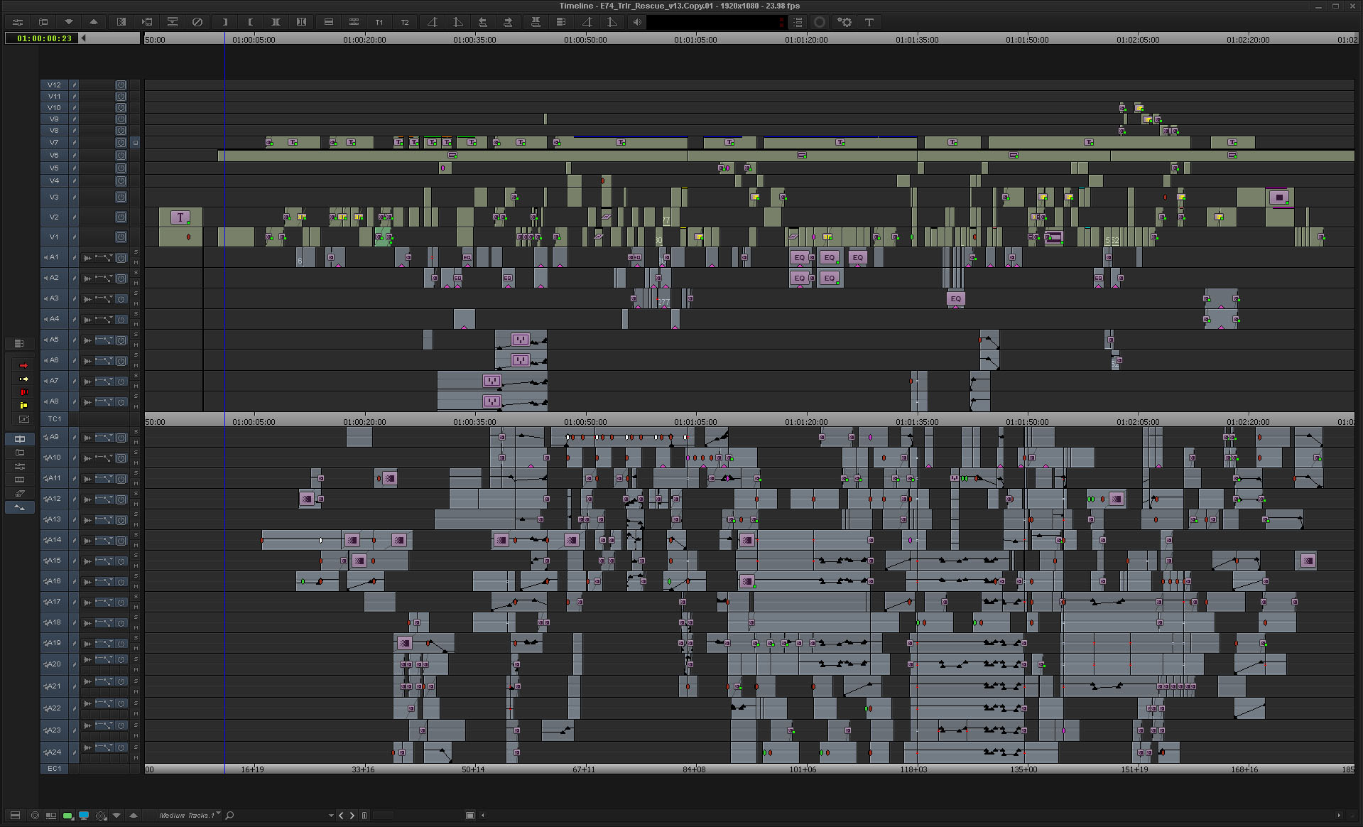 ART OF THE CUT with a trailer editor 20