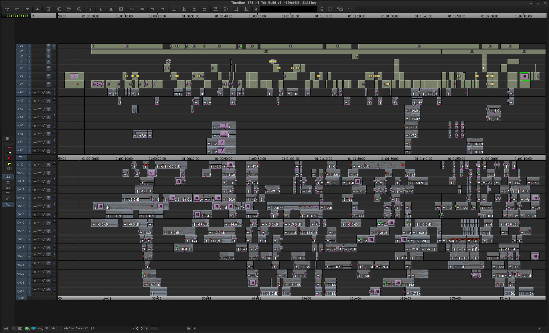 ART OF THE CUT with a trailer editor 18