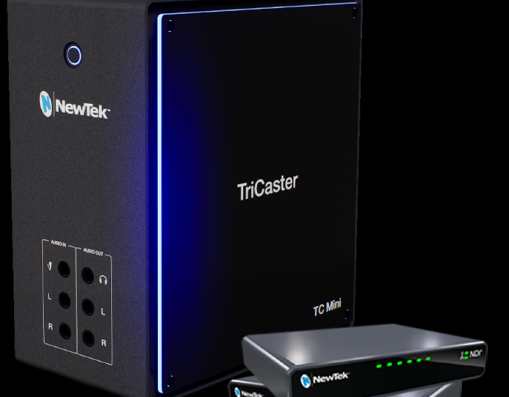 NewTek TriCaster Mini (2019) video mixer goes NDI-only 4