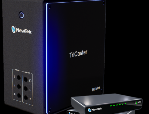 NewTek TriCaster Mini (2019) video mixer goes NDI-only 13