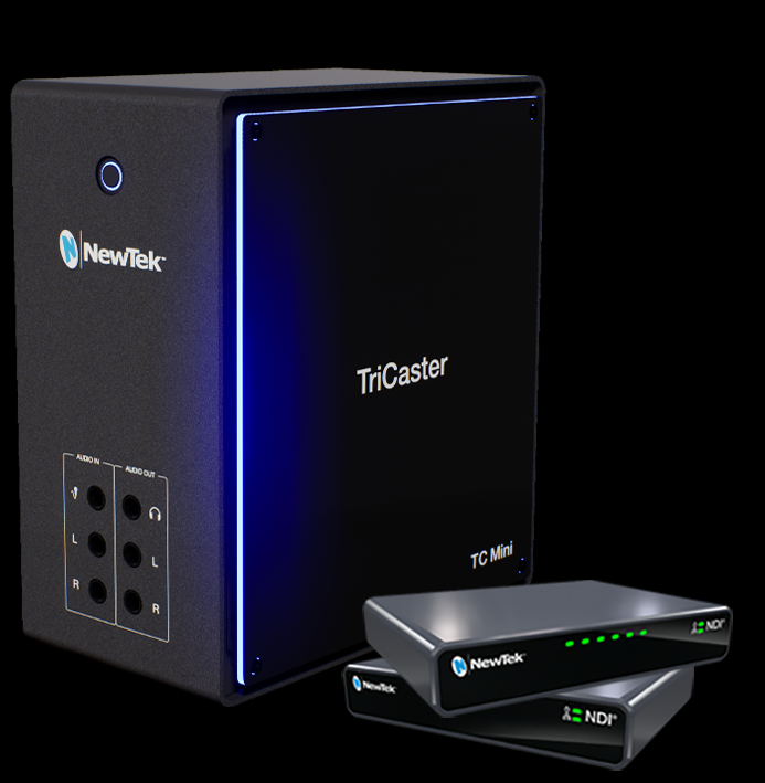 NewTek TriCaster Mini (2019) video mixer goes NDI-only 10