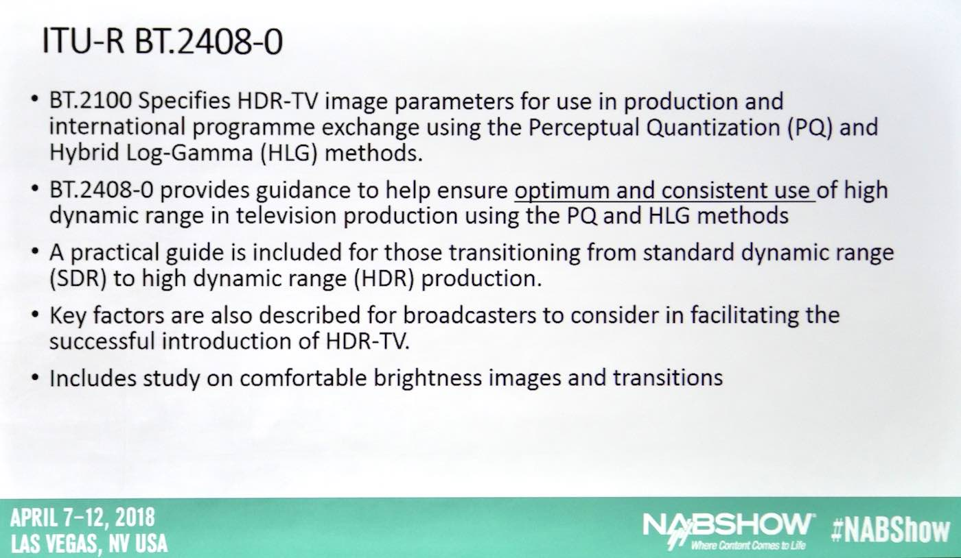NAB: Global UHD Conference 5