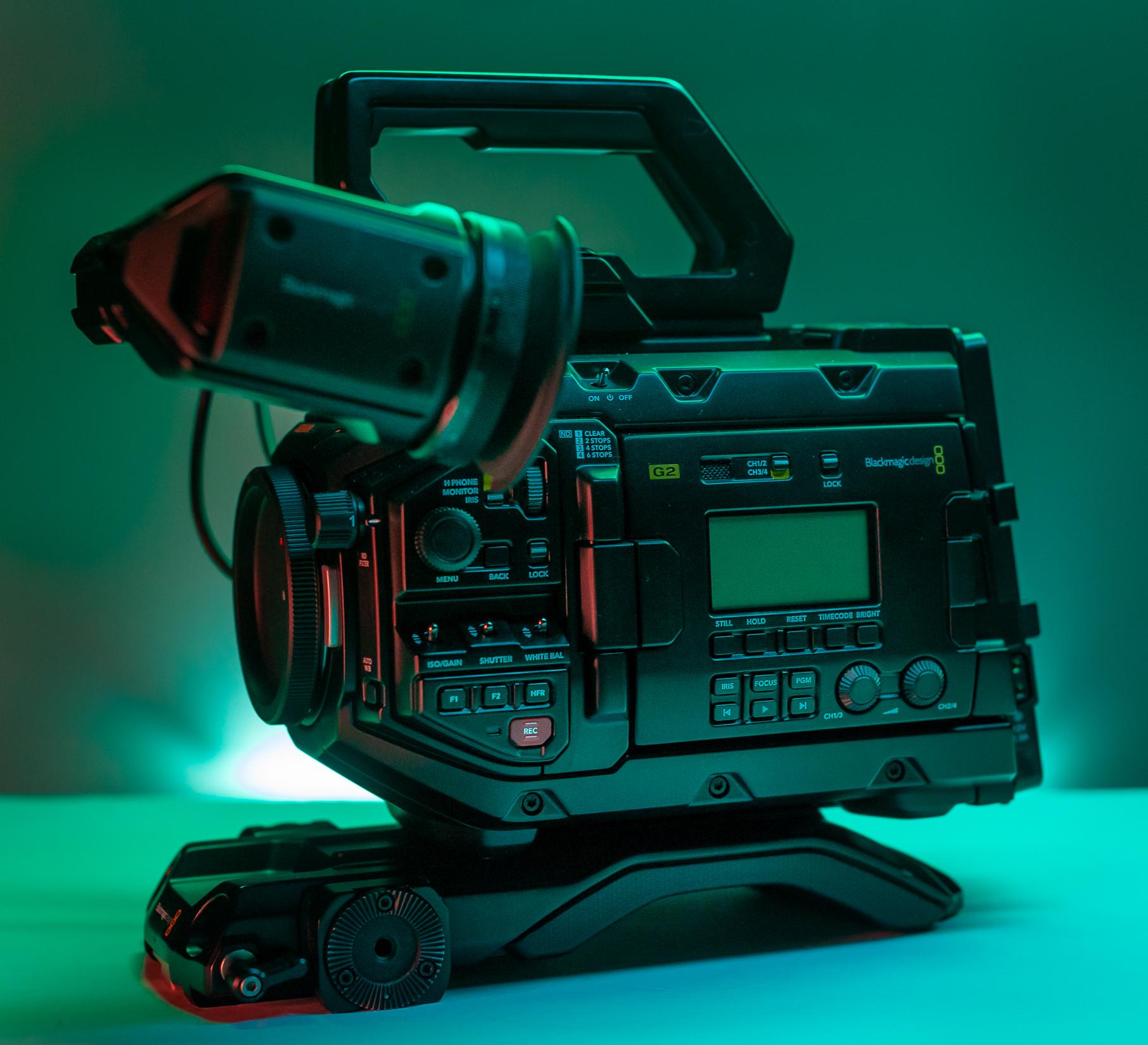 The Review of The Blackmagic Design URSA Mini Pro G2 2