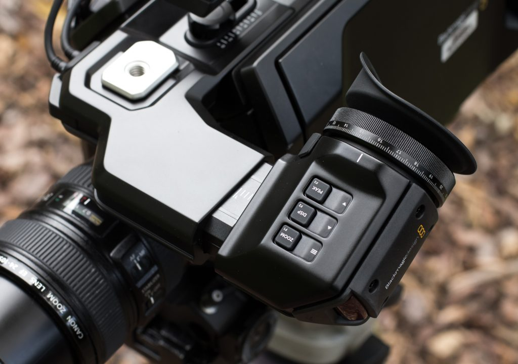 Blackmagic's URSA Viewfinder Review 1