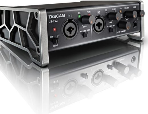 Tascam US–2X2 preamp/A-D converter interface review 36