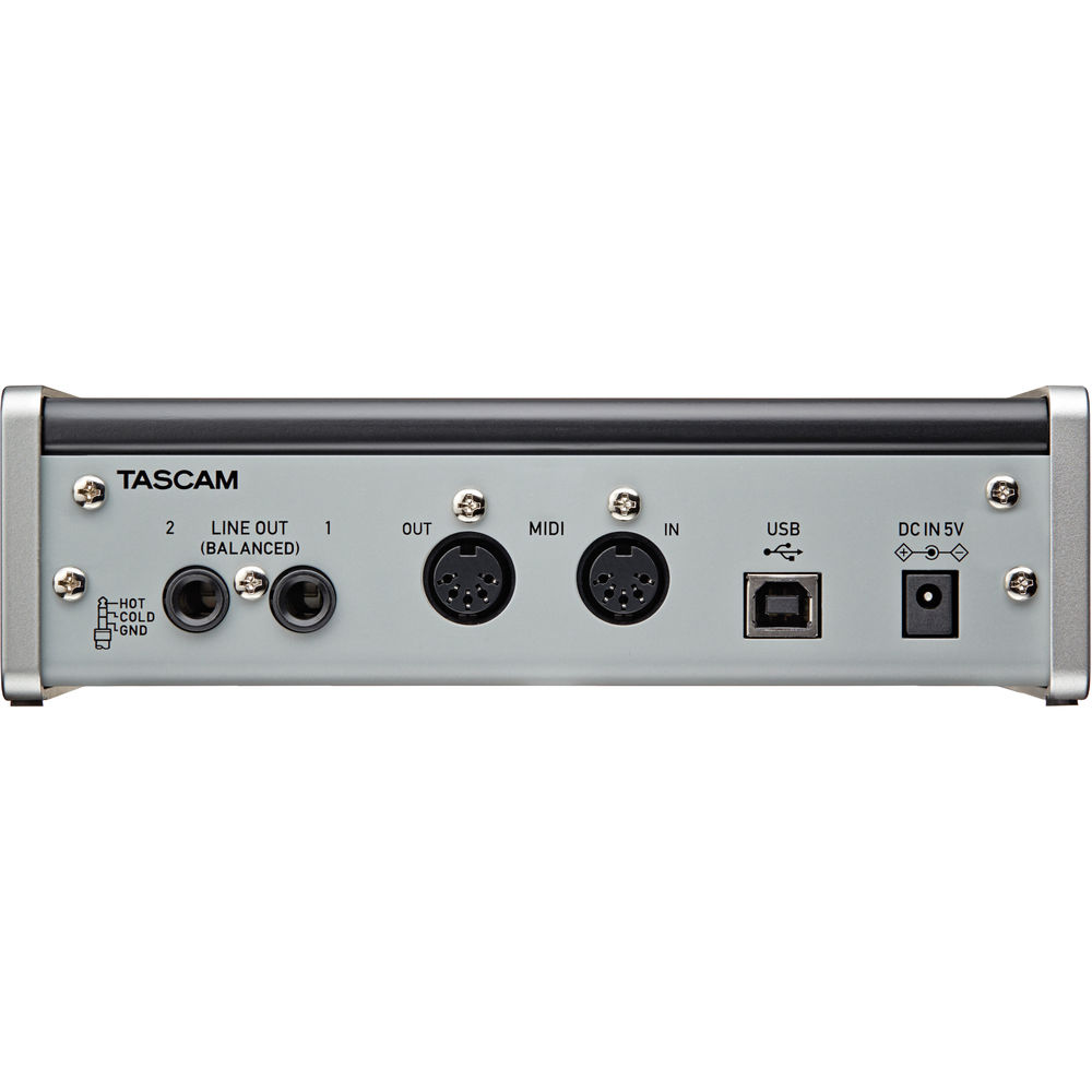 Tascam US–2X2 preamp/A-D converter interface review 16