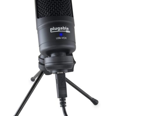 Review: Plugable USB-VOX studio microphone 66