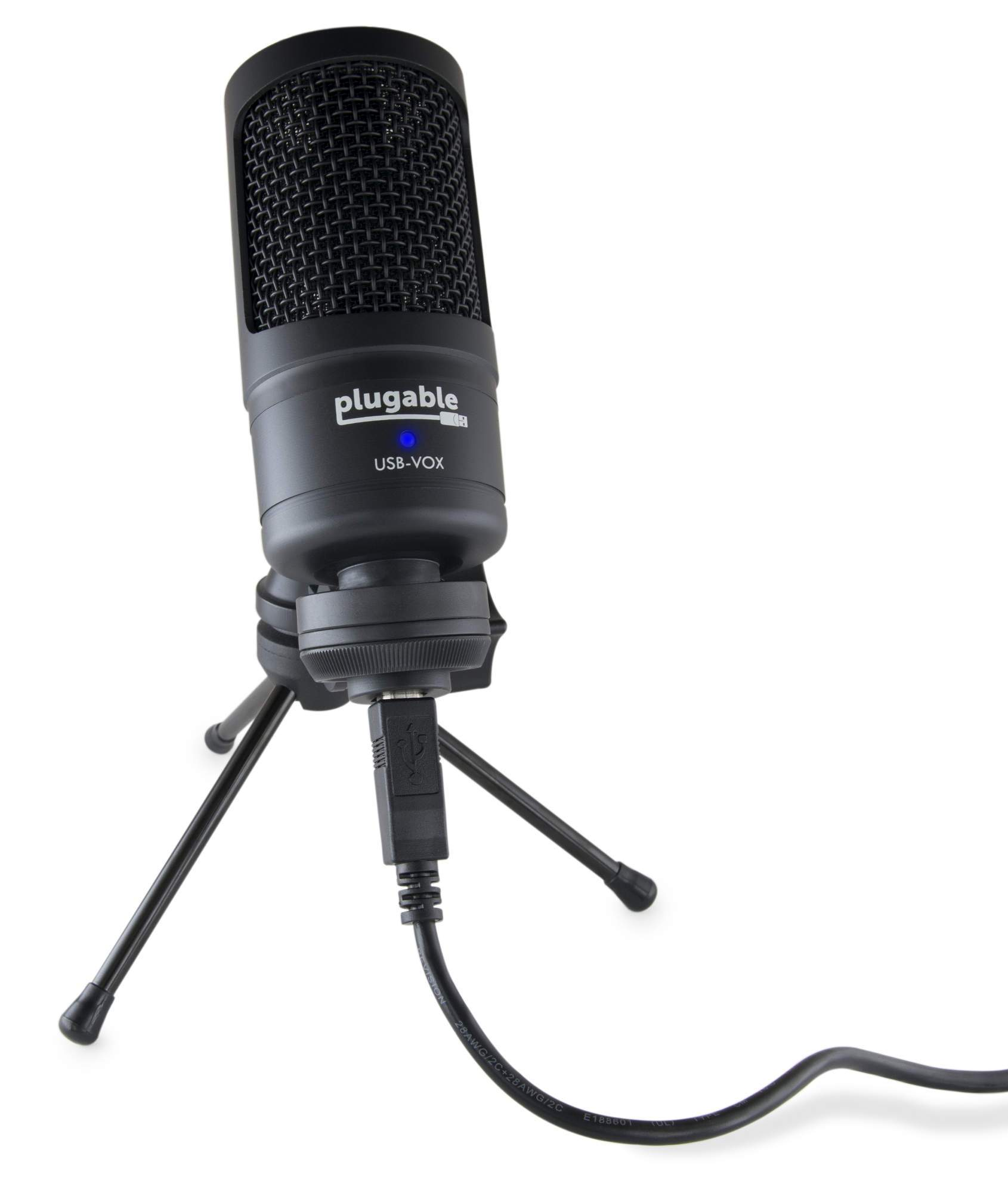 Review: Plugable USB-VOX studio microphone 2