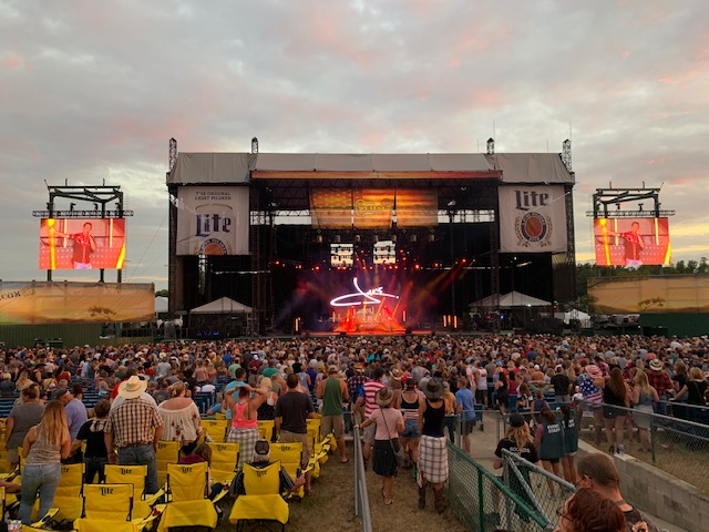 ATEM Constellation 8K Used at Country Music's WE Fest 2