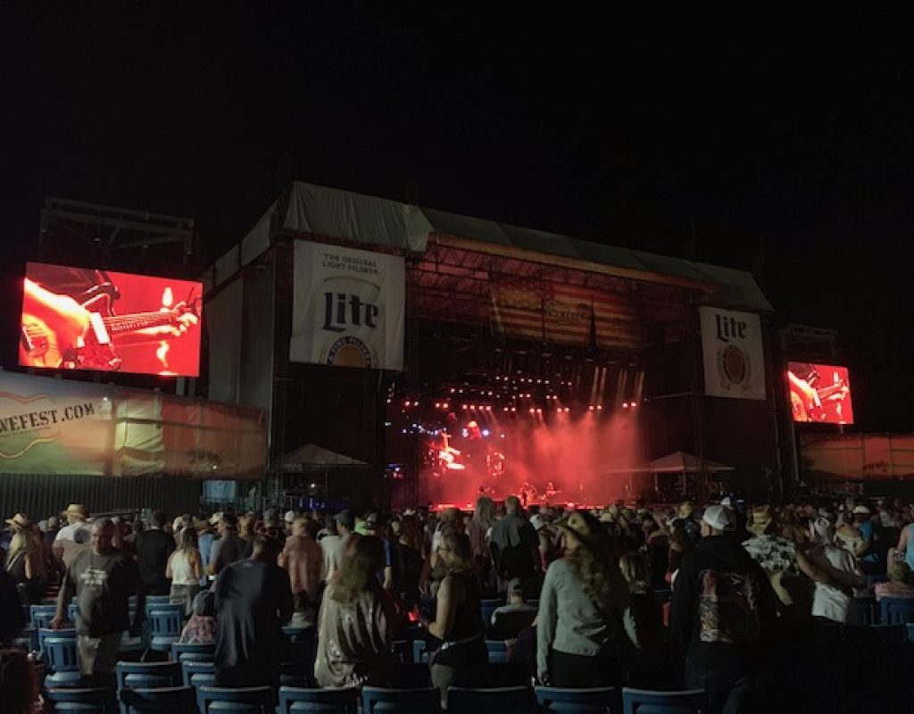 ATEM Constellation 8K Used at Country Music's WE Fest 1