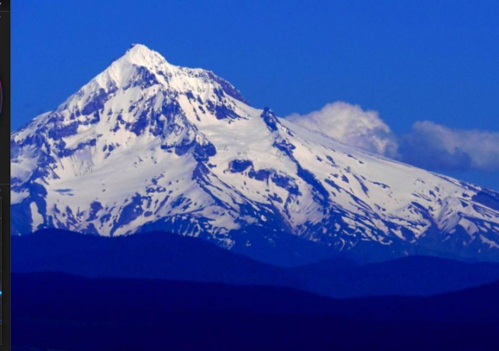 Mt. Hood, heavily graded 10-bit external V-Log L
