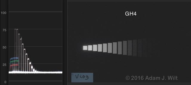GH4 V-Log L on WFM
