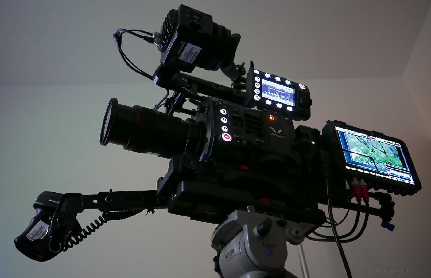 VariCam LT in the dark, with Odyssey7Q+