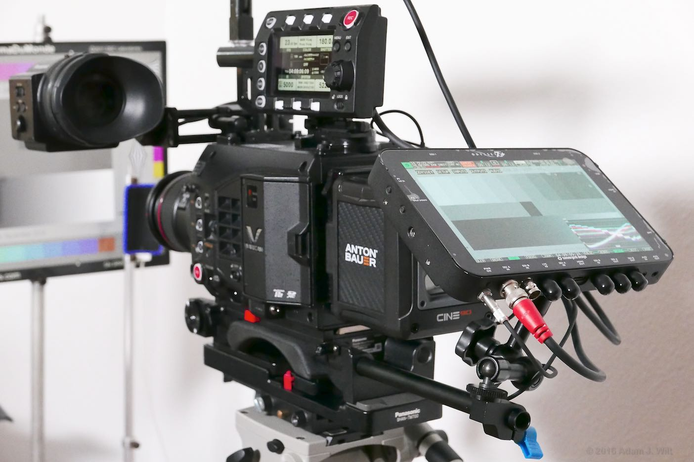 VariCam LT with 7Q+ recorder