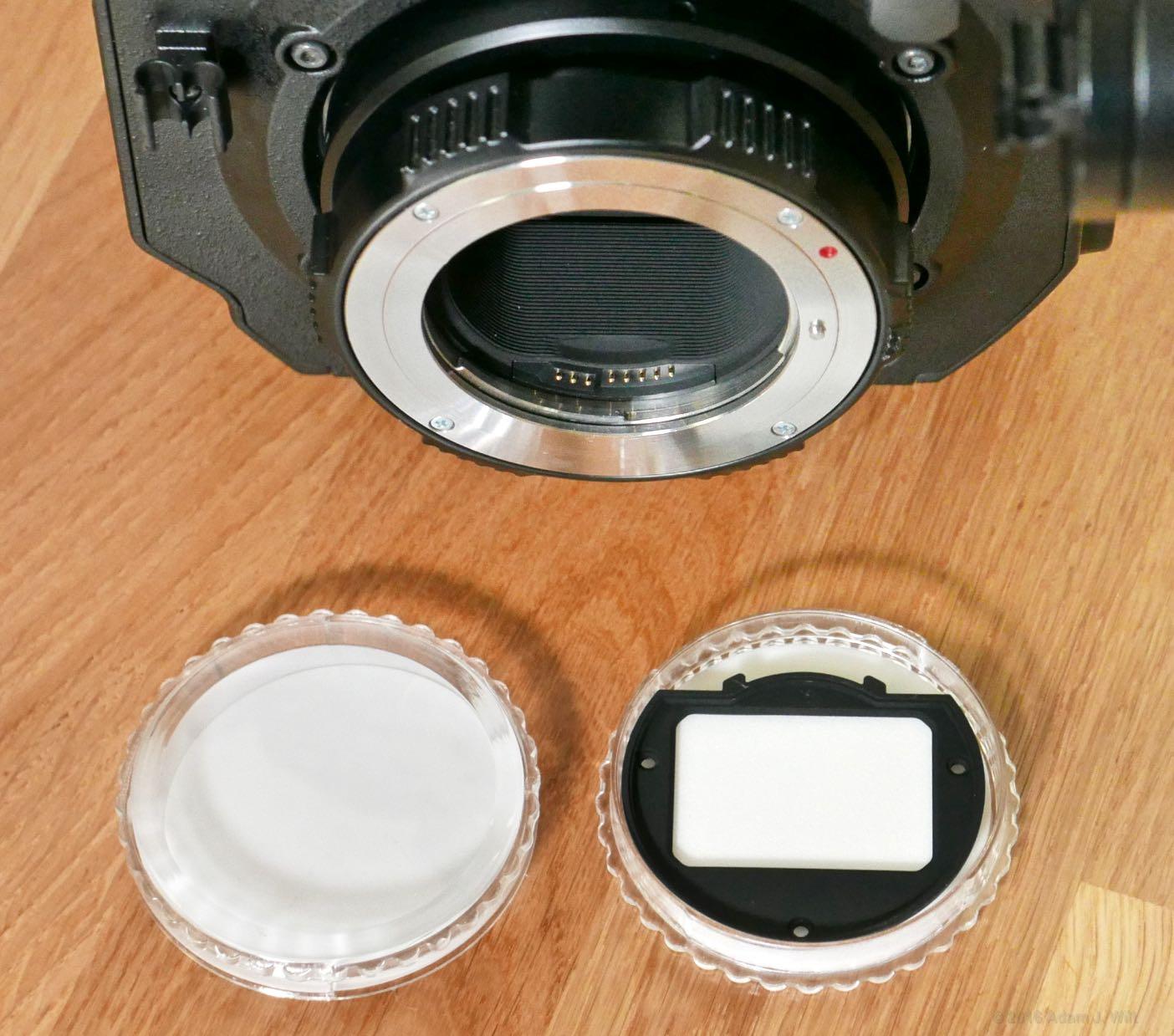 VariCam LT clear IR-pass filter