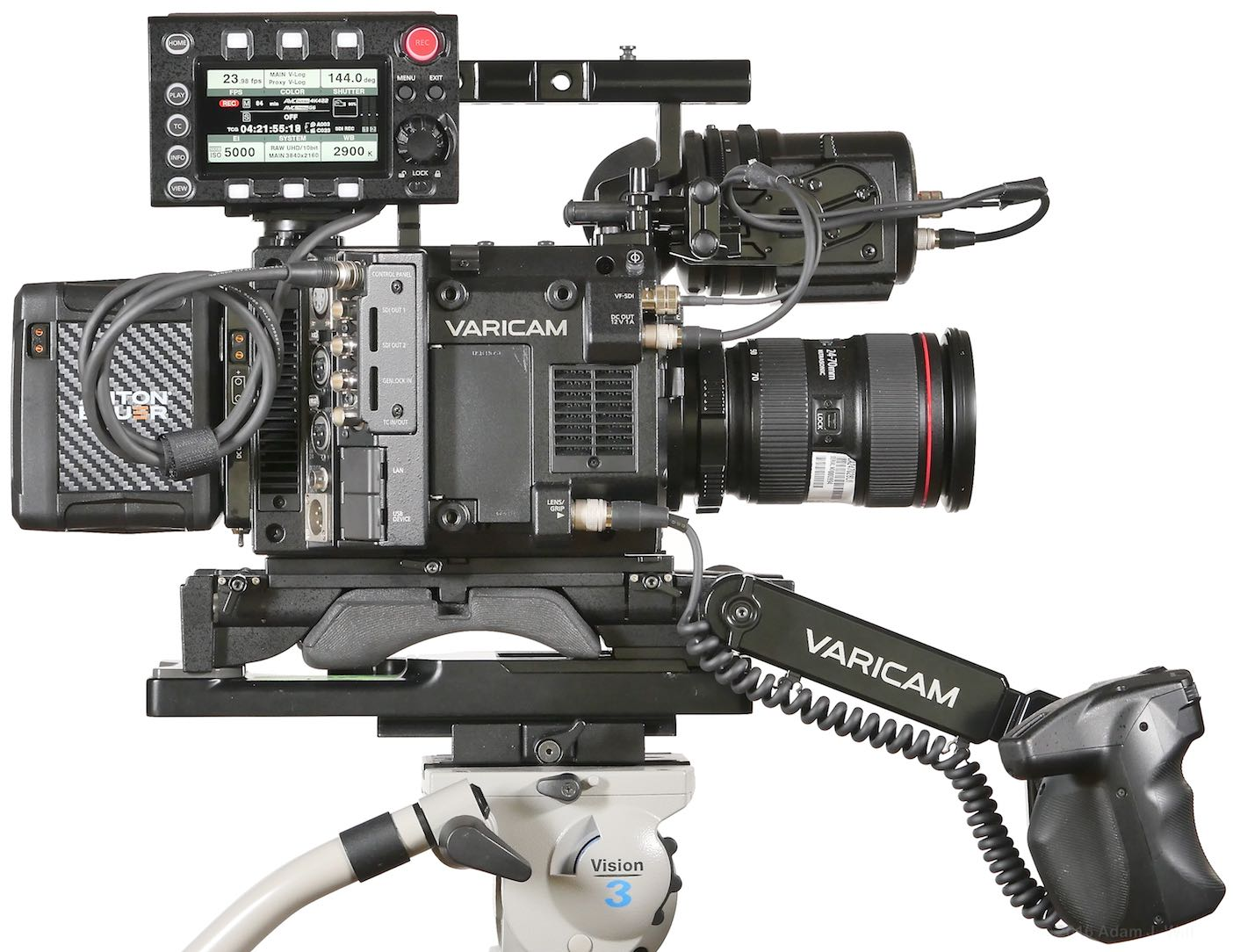 VariCam LT right side
