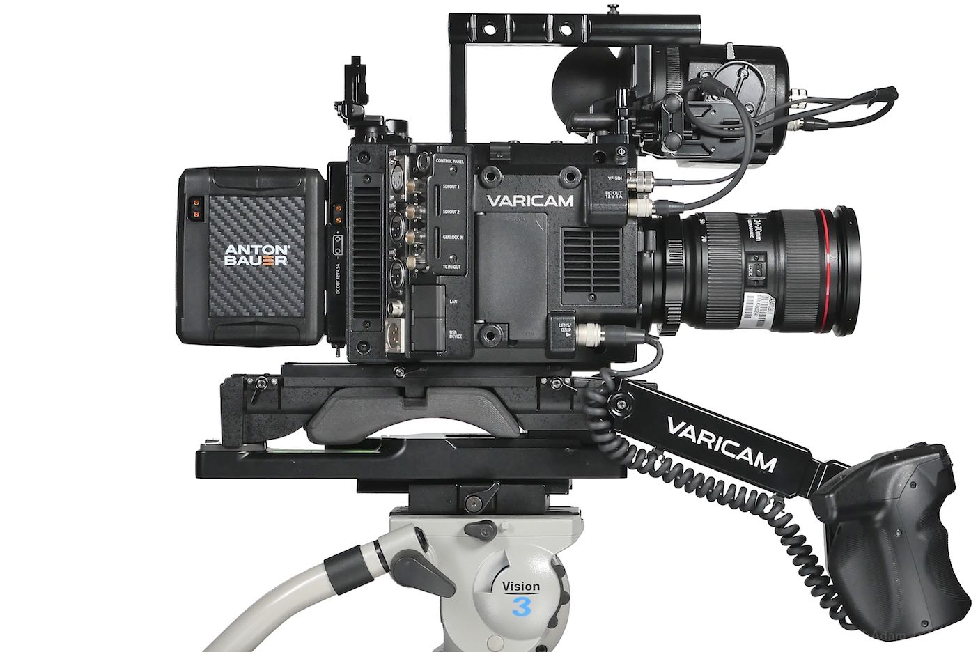 VariCam LT, side view