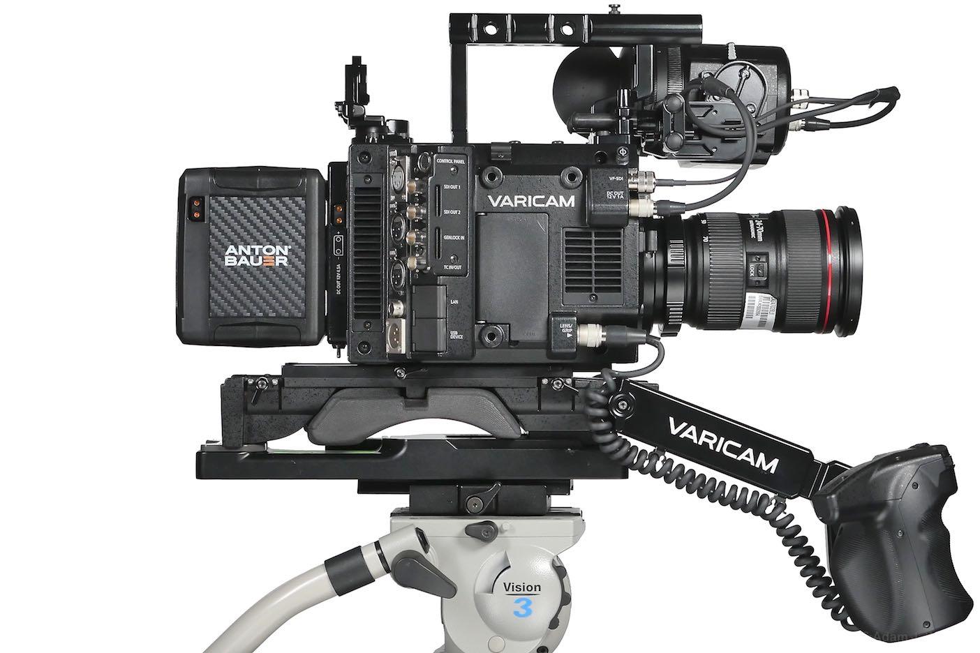VariCam LT, side view