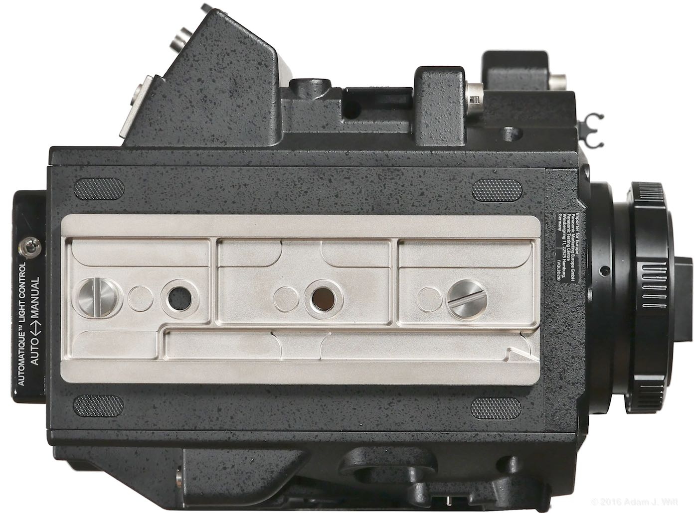 VariCam LT with dovetail plate