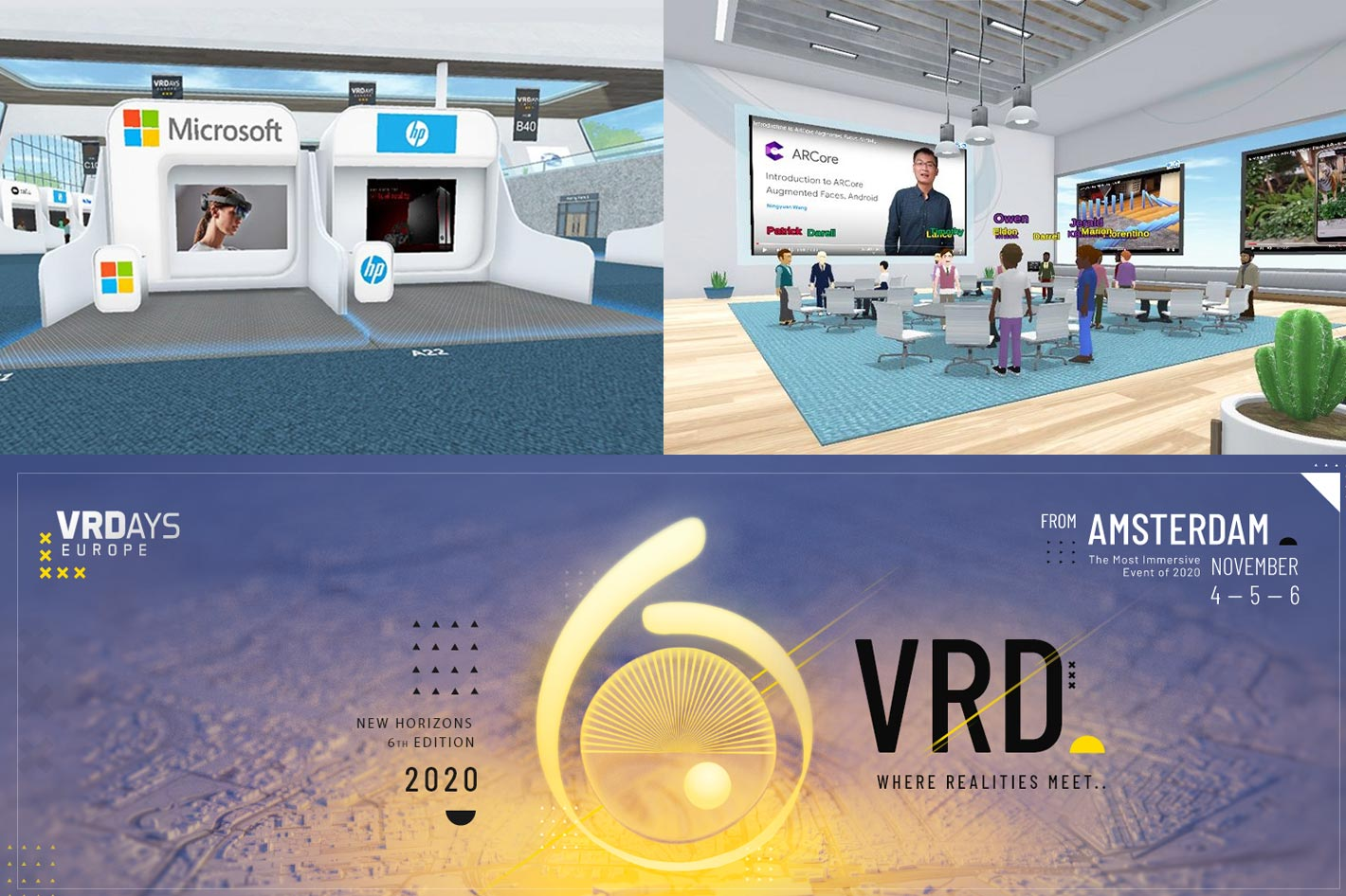 VRDays: three days of online conferences on VR and AR