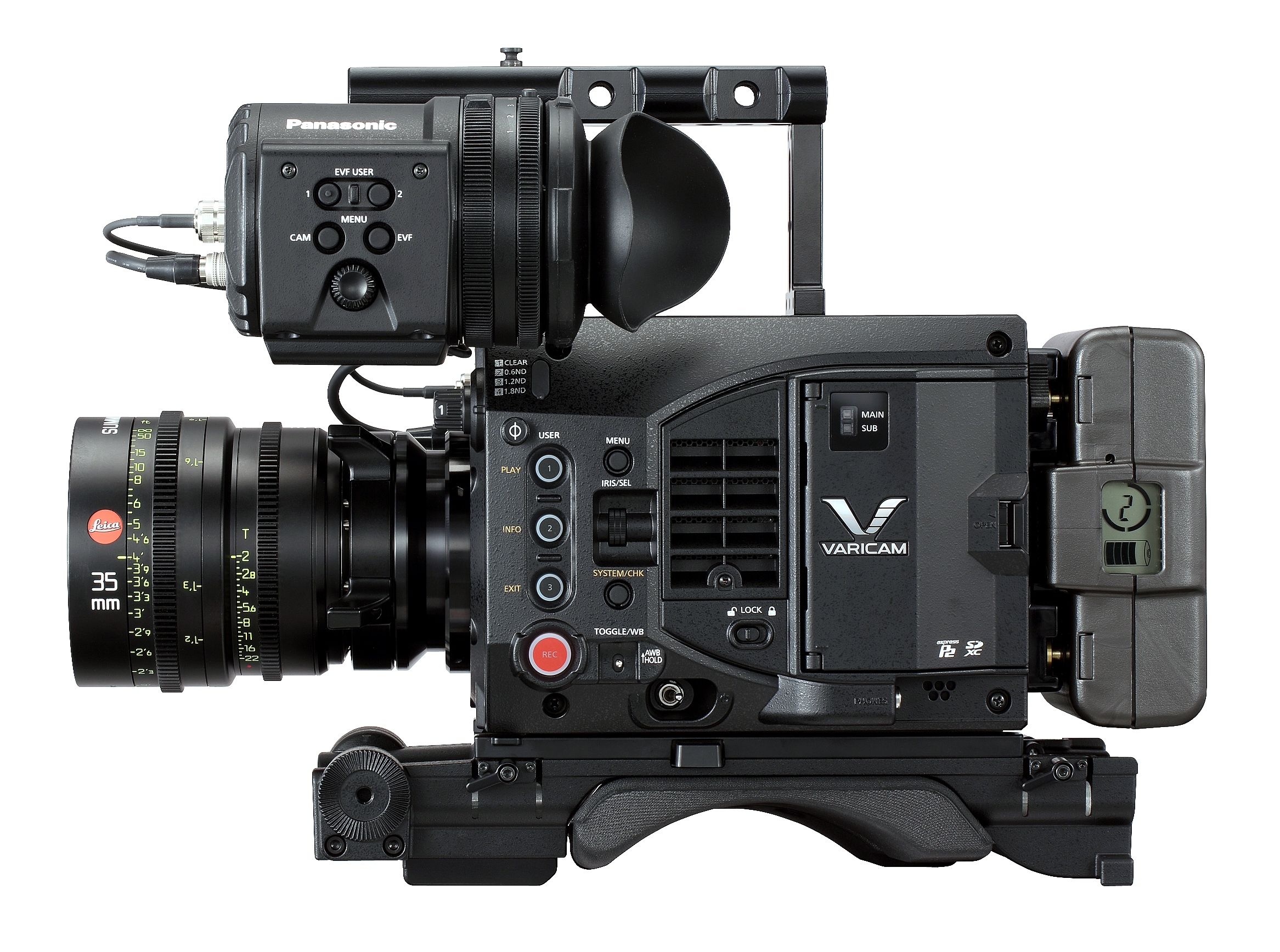 Panasonic Announces 4K Super 35 VariCam LT 5