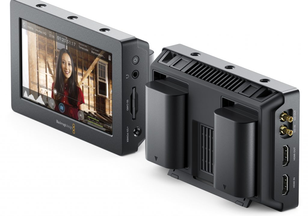Video Recorder/Monitor Announced By Blackmagic 1