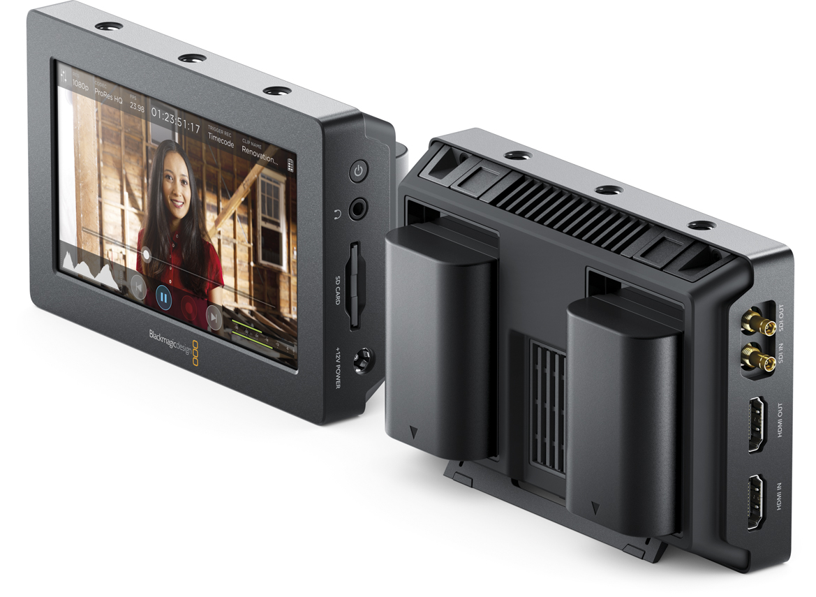 Video Recorder/Monitor Announced By Blackmagic 2