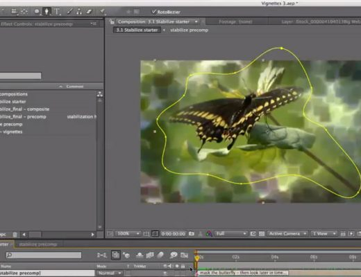 After Effects Classic Course: Extended Vignette Techniques (part 3)