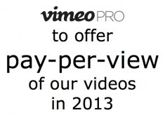 Vimeo to offer pay-per-view service in 2013