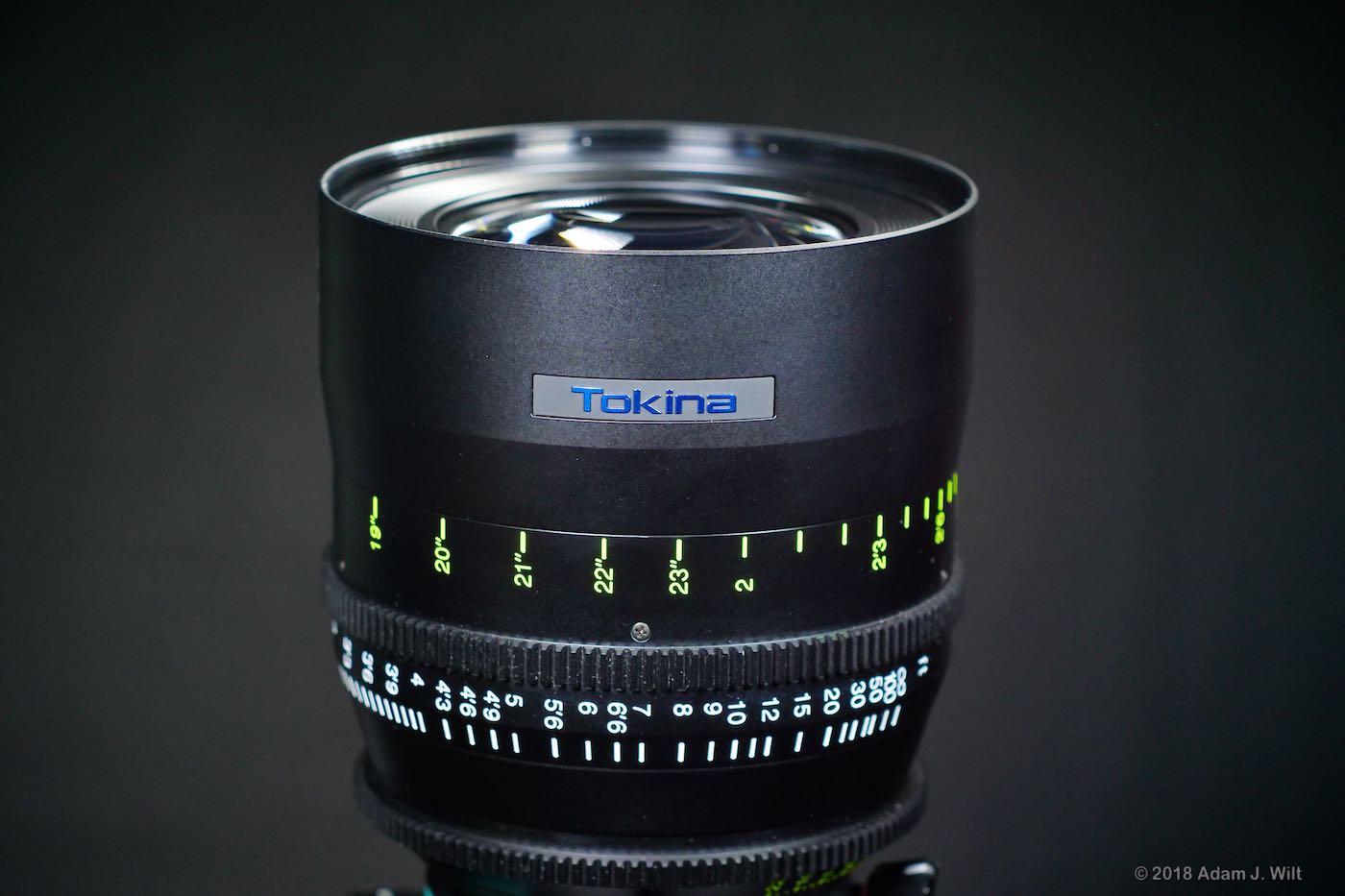 Tokina Vista 50mm T1.5 prime lens