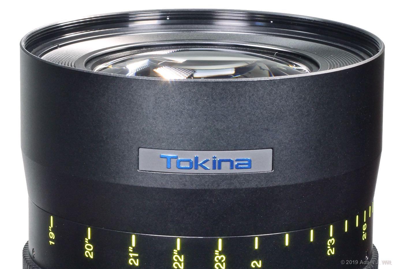Vista 50mm T1.5 front