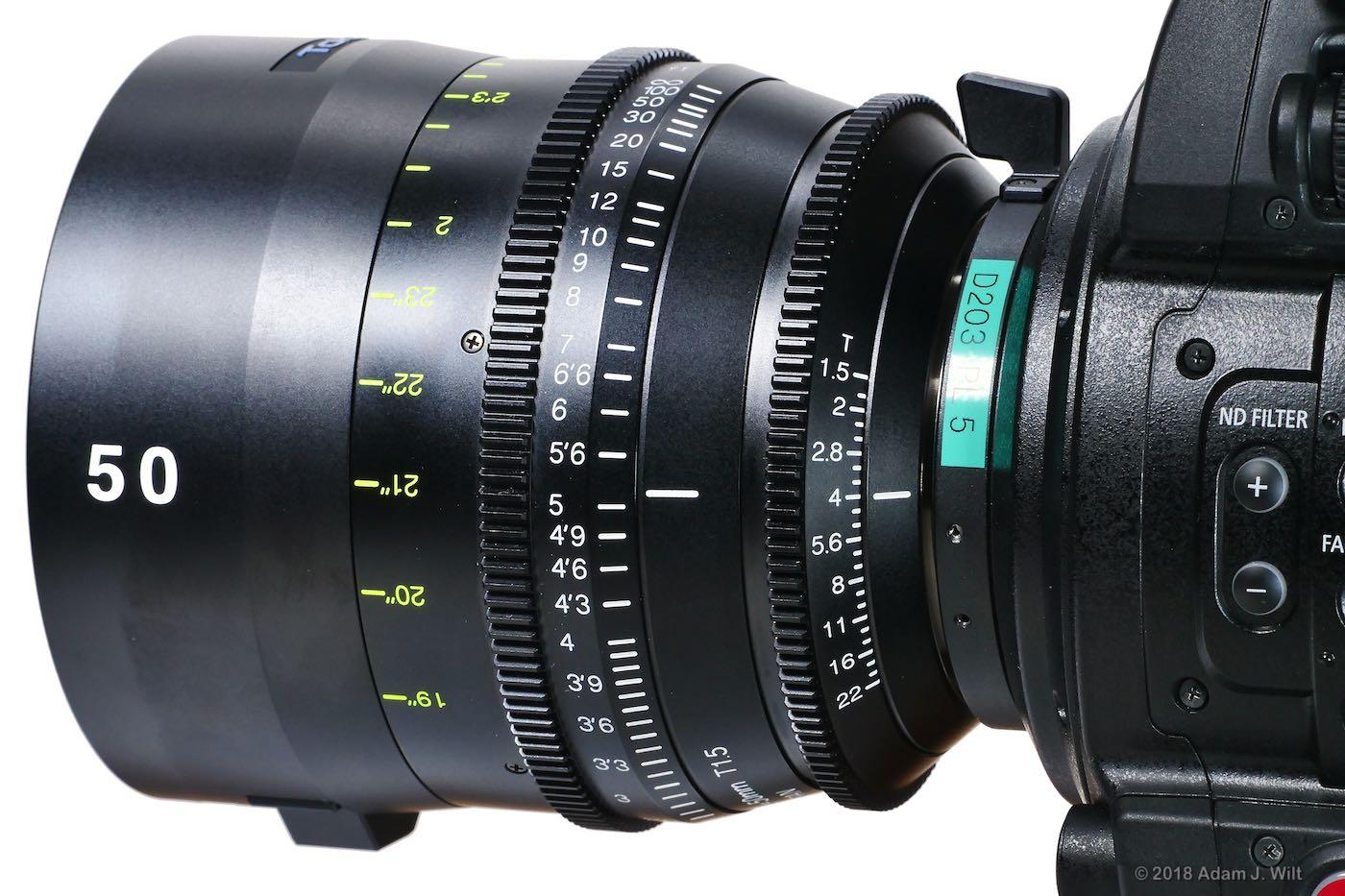 Vista 50mm on Canon C700 FF