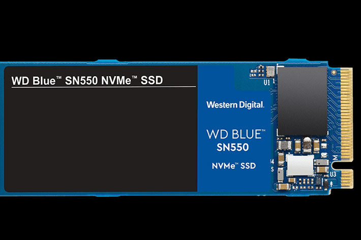 WD Blue SN550 NVMe SSD: built for content creators, 1TB costs $99.99 1