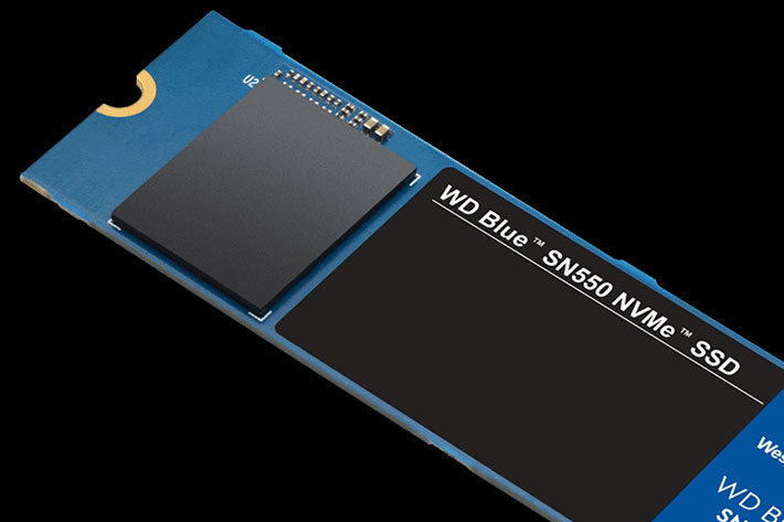 WD Blue SN550 NVMe SSDs: built for content creators, 1TB costs $99.99