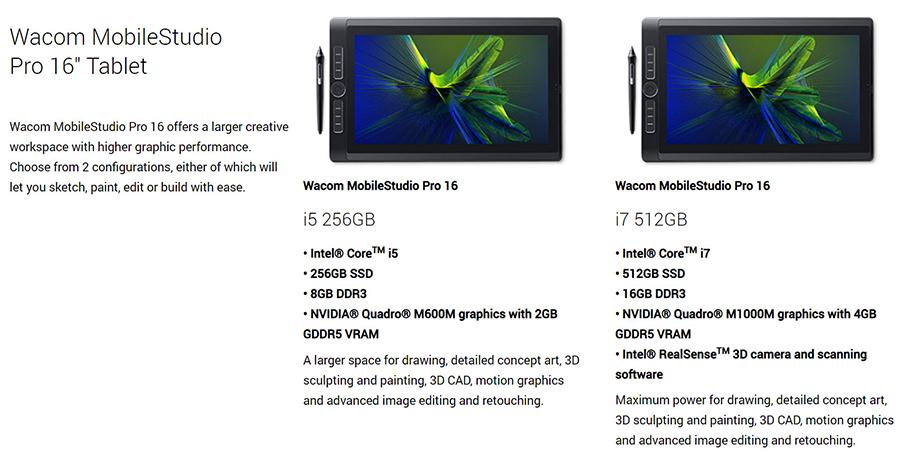 First Look: Wacom MobileStudio Pro 16 38