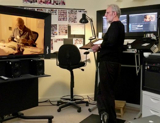 "Art of the Cut Podcast Eps. 35 (Editor Walter Murch, ACE On Writing ""The Conversations"" & ""In the Blink of an Eye"")"