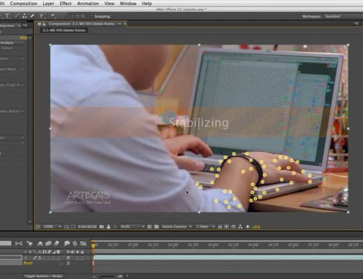 After Effects Warp Stabilizer VFX