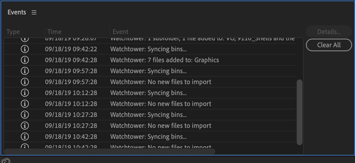 Watchtower - Automatically load media into your Premiere Pro or After Effects bins 6