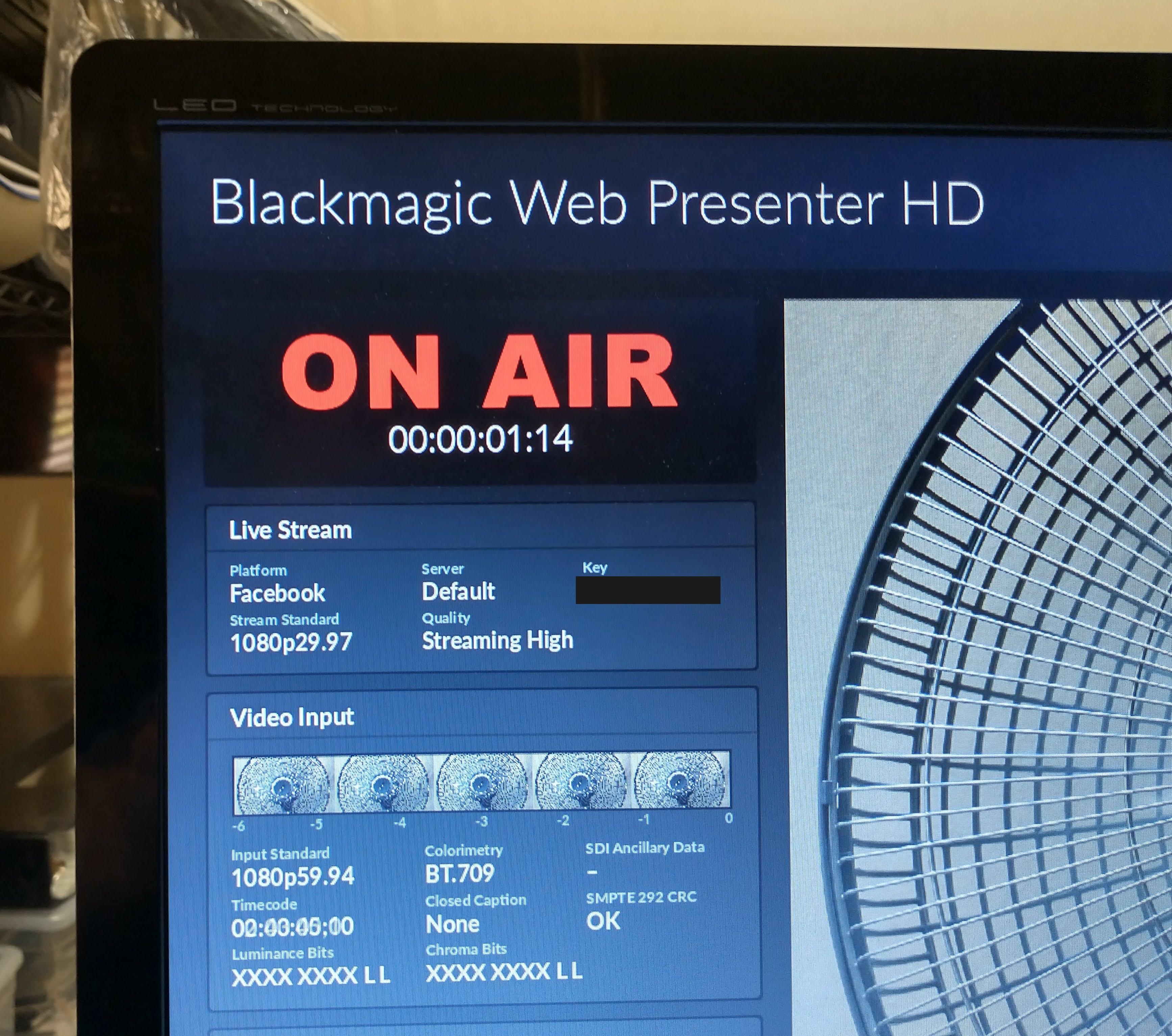 Review: Blackmagic Web Presenter HD streaming encoder + shyness fixer 28