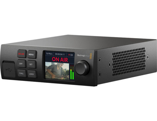 First look preview: Blackmagic Web Presenter HD streaming encoder + shyness fixer 16