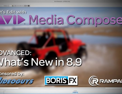 Let's Edit with Media Composer - What's New in v8.9 11