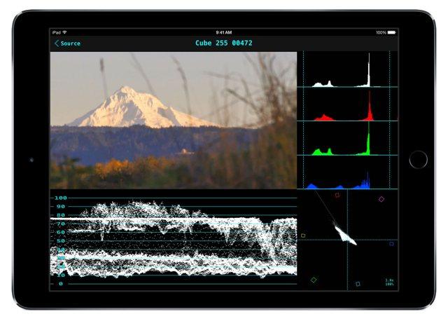 Wi-Fi WFM on an iPad